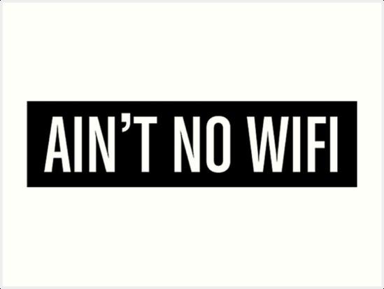 WiFi Signal Problems.